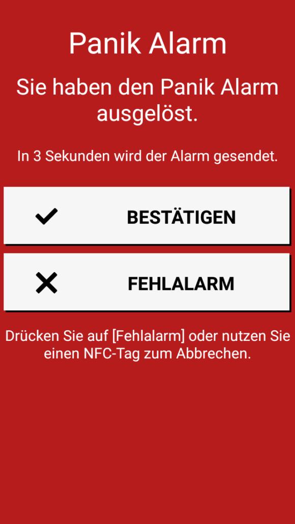 Alleinarbeiterschutz - Panik Alarm